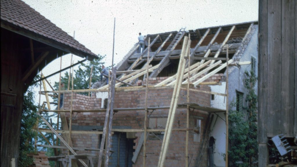 Haus in Renovation
