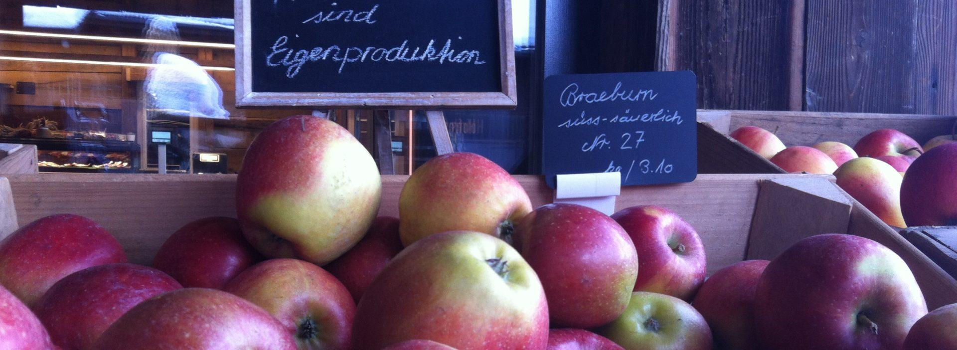 Apfel Hofladen Braeburn
