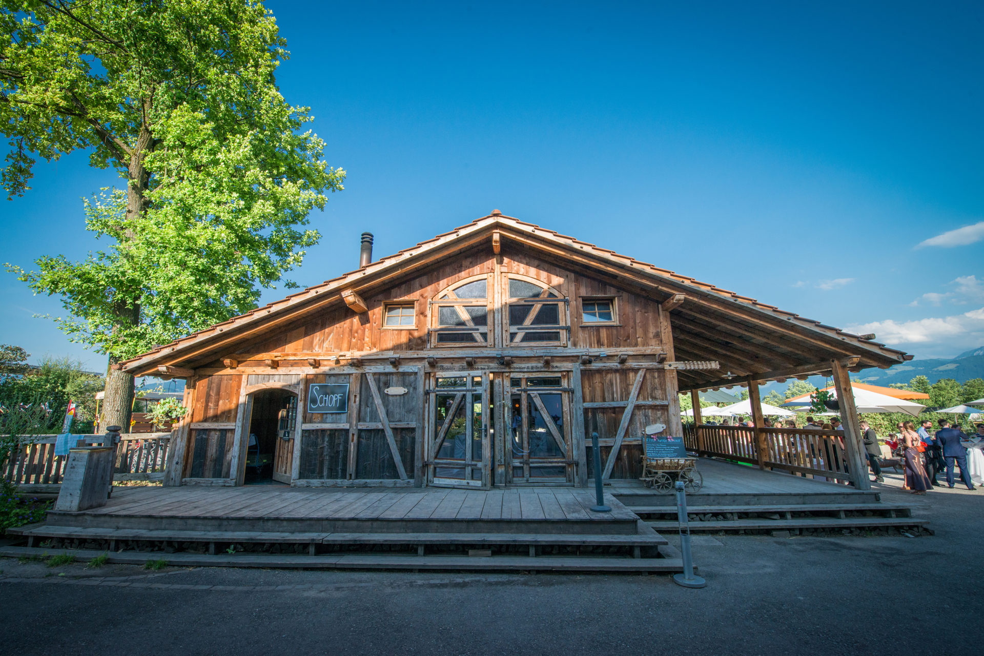 Bächlihof Eventlocation Schopf