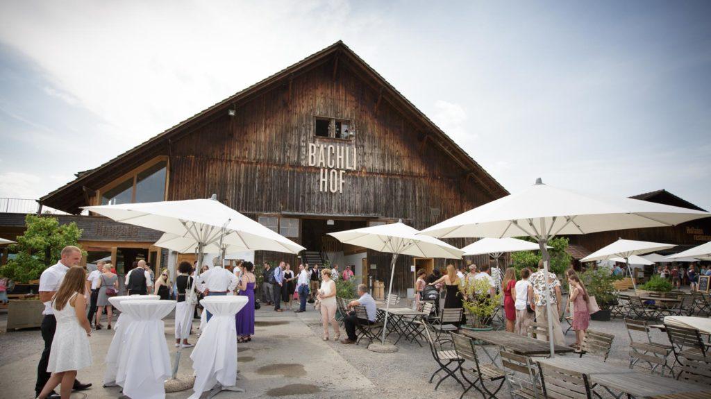 Bächlihof Heugade Hochzeit Gesellschaft
