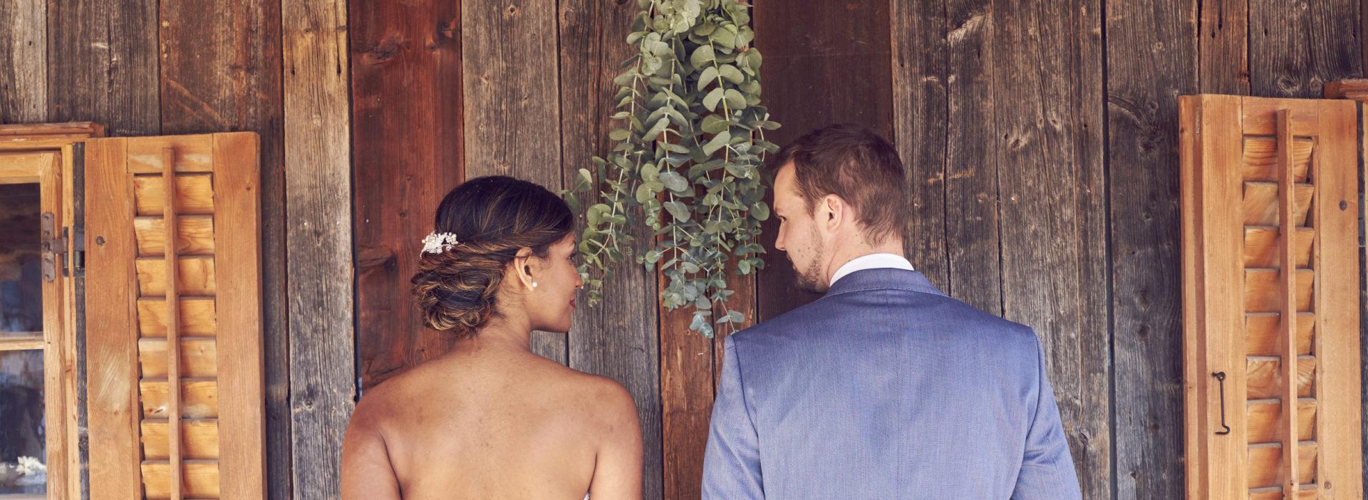 Bächlihof Schopf Heiraten Brautpaar