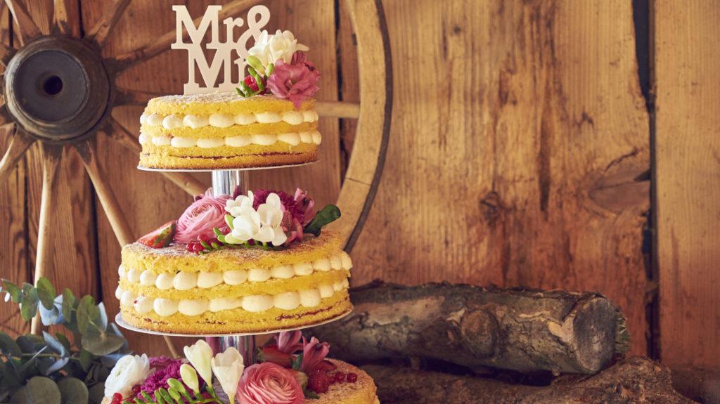 Bächlihof Schopf Hochzeit Torte