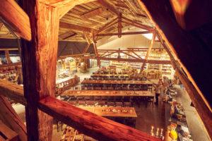 Bächlihof Teamanlass Weihnachtsessen Farm Shop Dinner