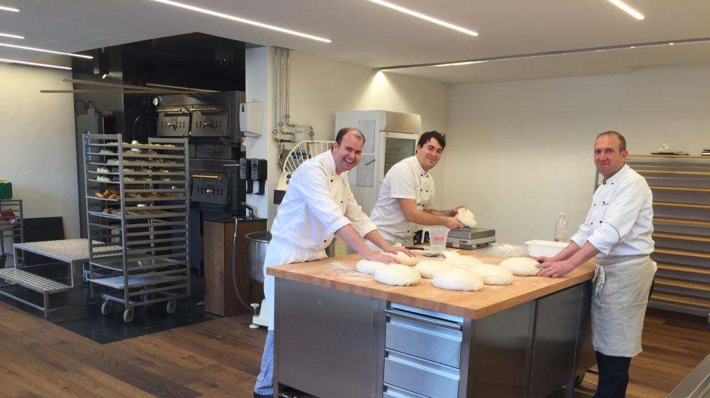Bäcker Bei Arbeit