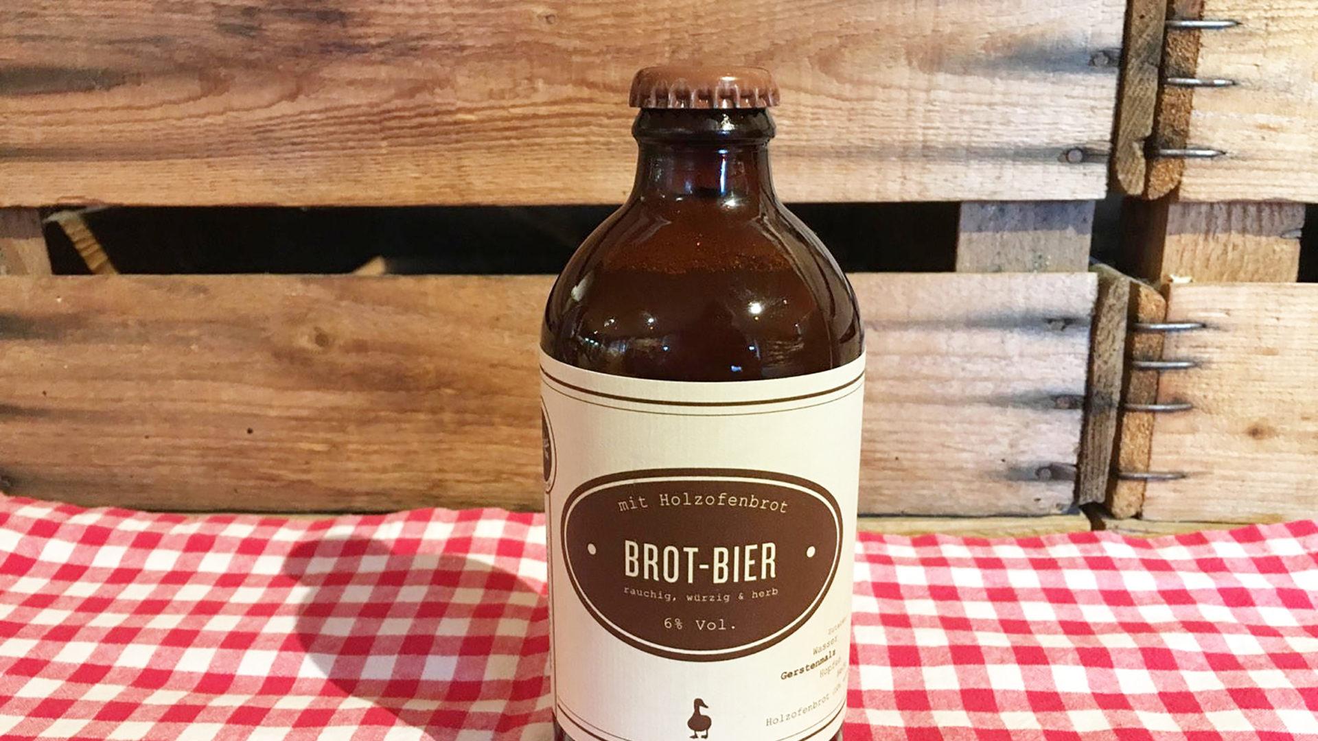 Bier Aus Holzofenbrot