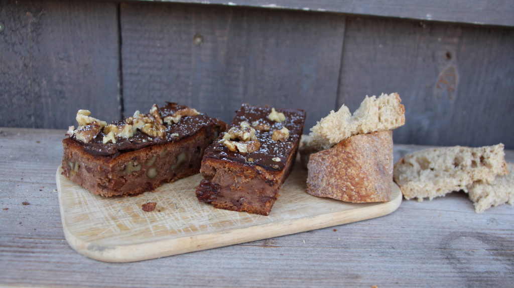 Kuchen aus altem Brot
