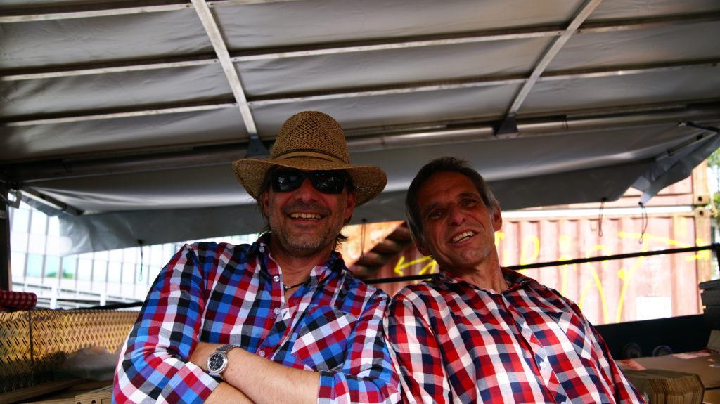 Andy und Christoph