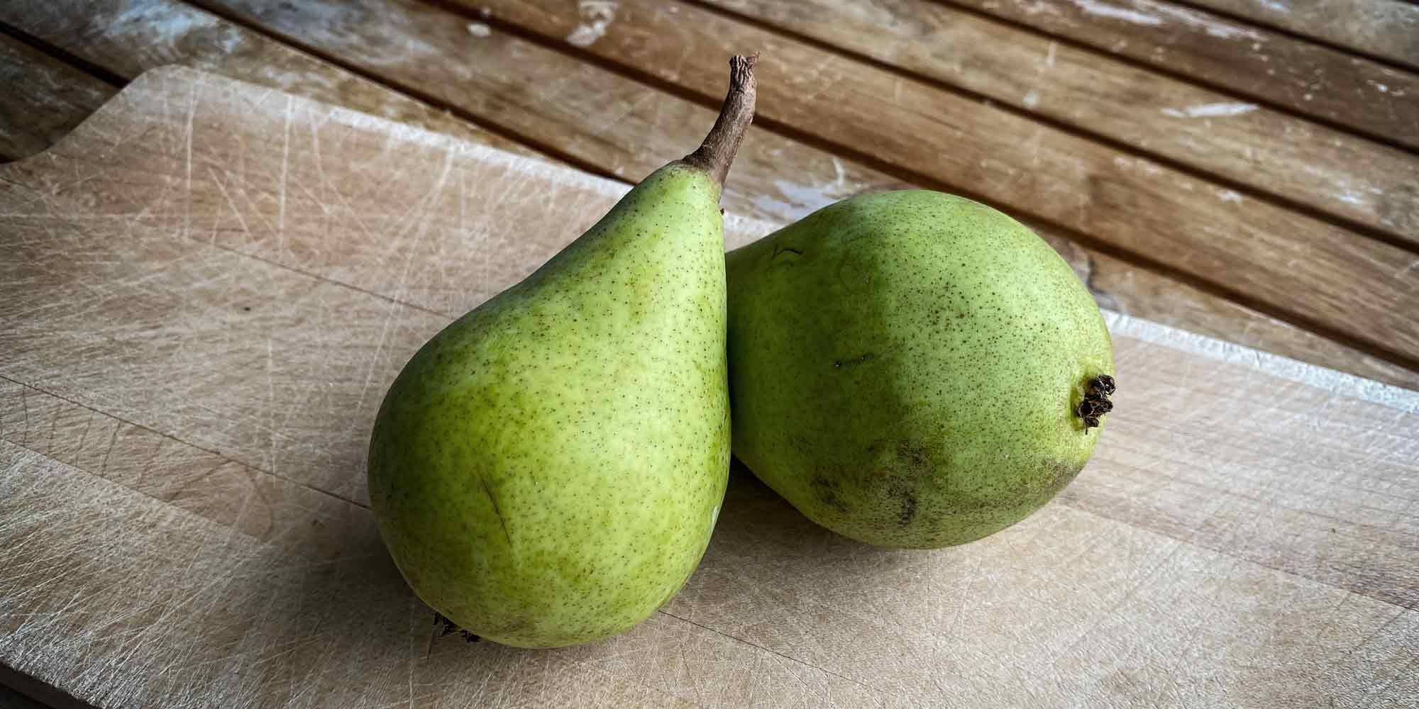 Clapps Liebling stammen von einem robusten Baum und schmecken saftig-süss.