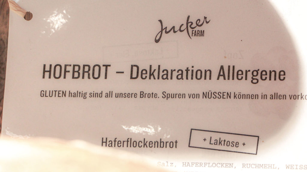 Allergen Deklaration