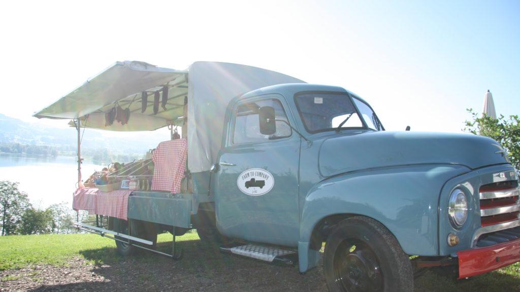 Hofladen - Lastwagen totale