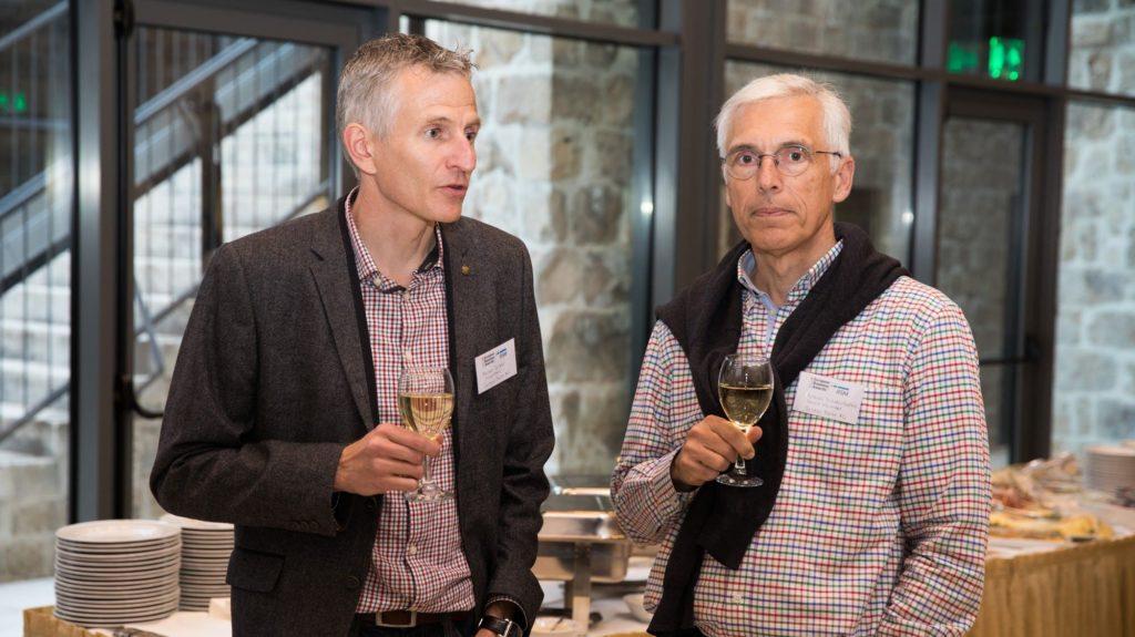 Martin und Achim beim EBA