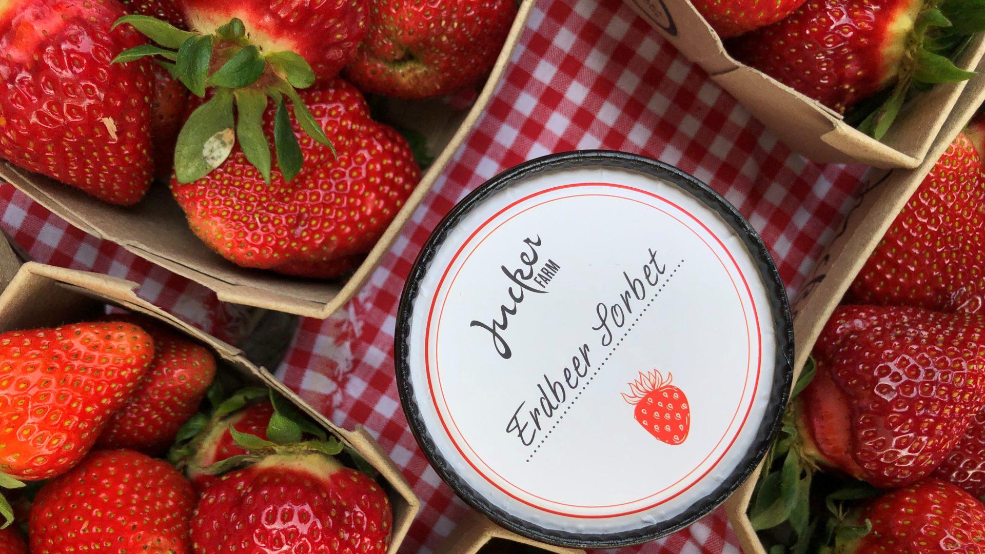 Erdbeer Glace