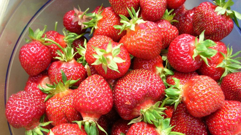 Erdbeeren Als Zutat