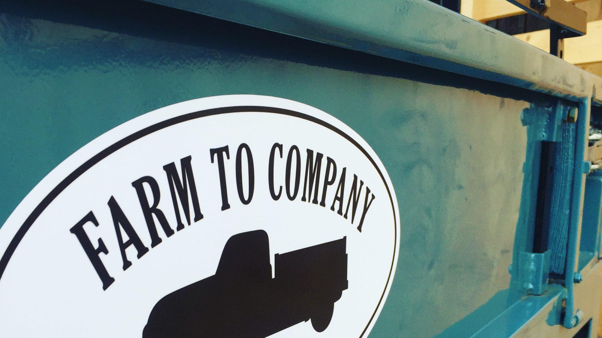Farm To Company Lastwagen