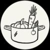 Farmticker Icon Feldfood Rezepte