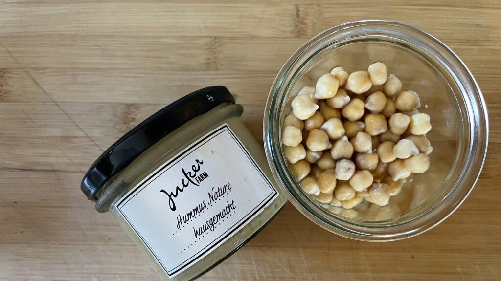 Jucker Hummus aus Rafzer Kichererbsen