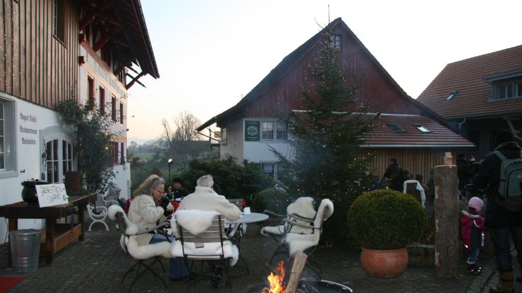 Feuerstelle Winterzauber