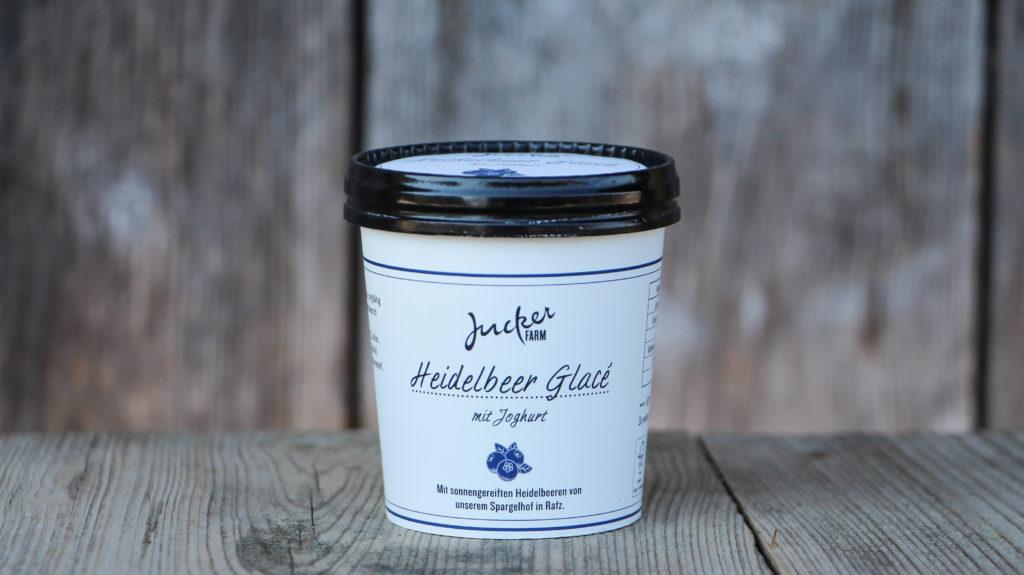 Heidelbeer Glace