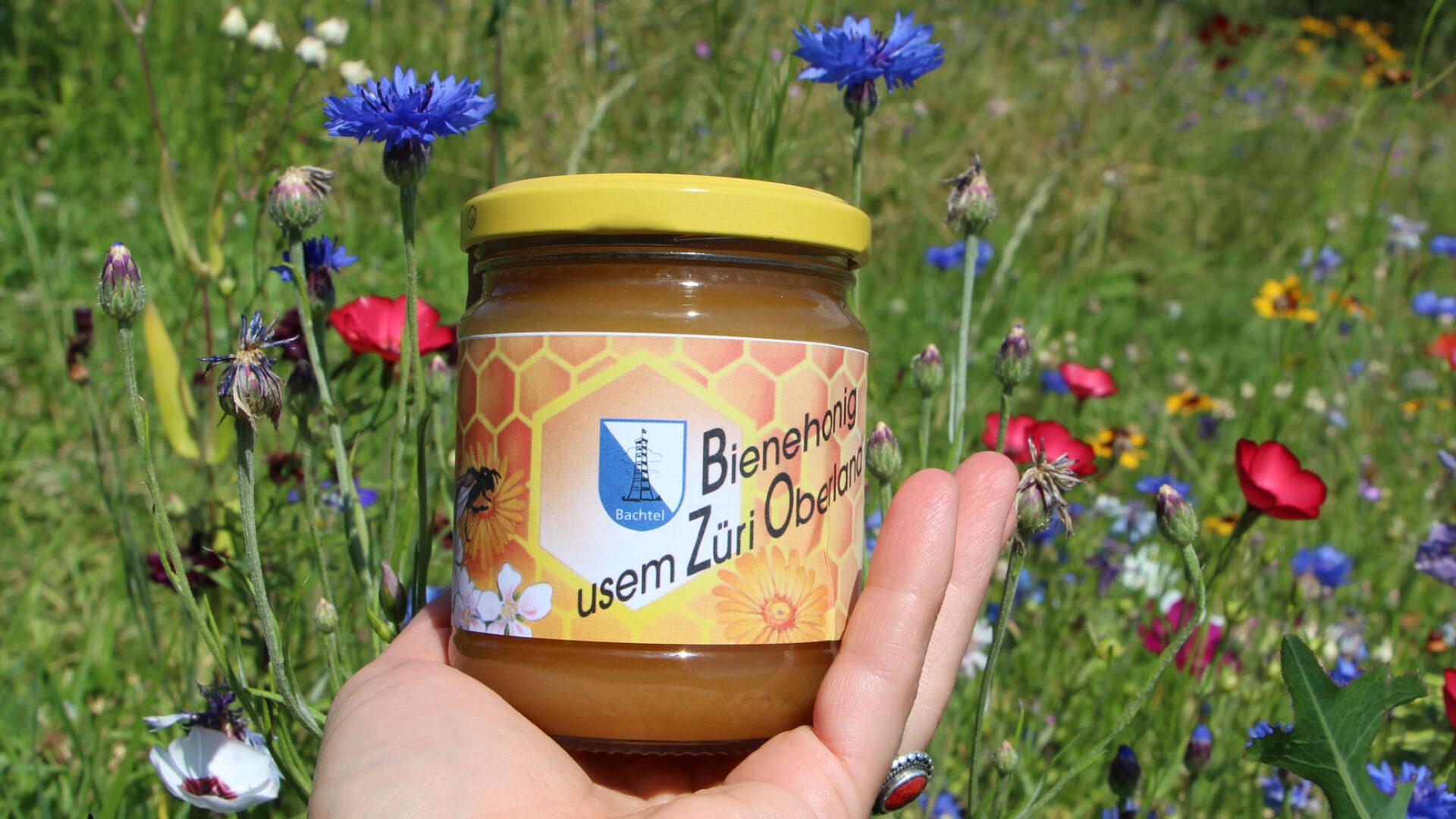 Zürioberländer Honigglas