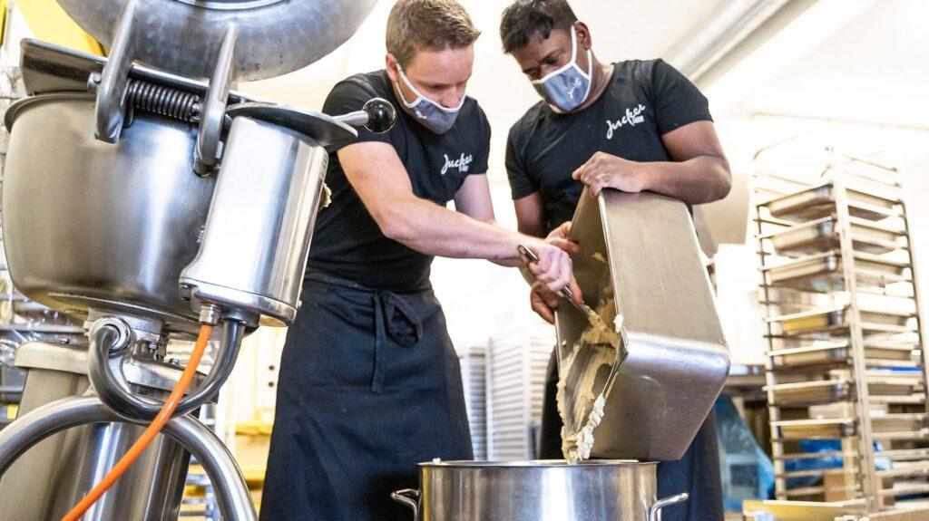 Hummus Produzieren Team