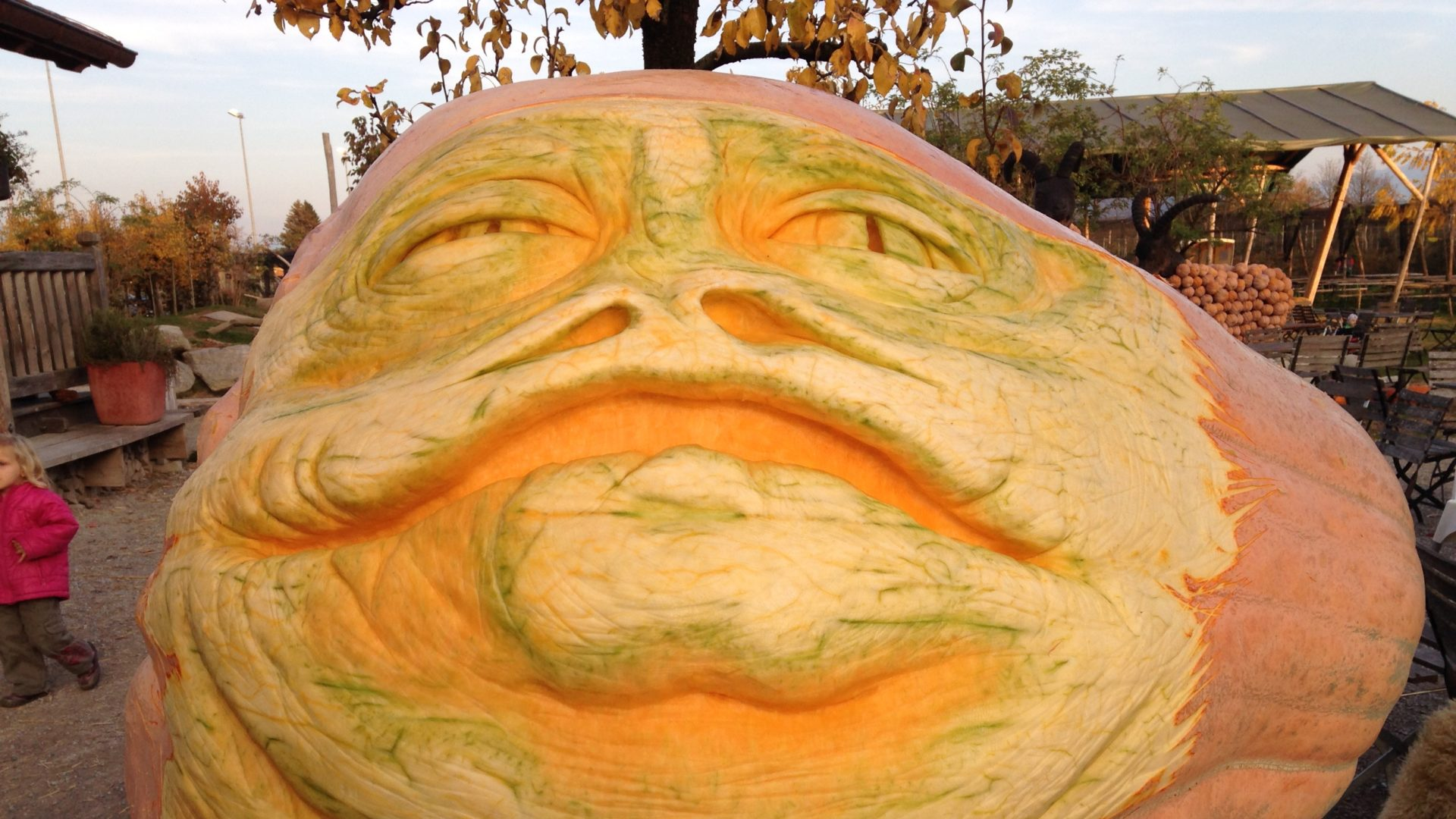 Jabba The Hutt In Kuerbis
