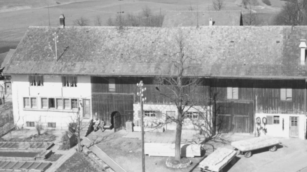 Altes Foto Wohnhaus