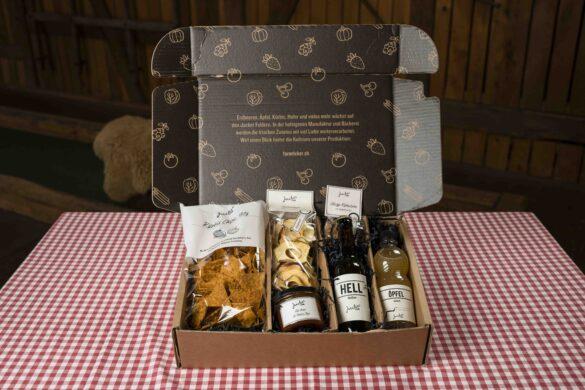 Jucker Farm Geschenkkiste Apero Box