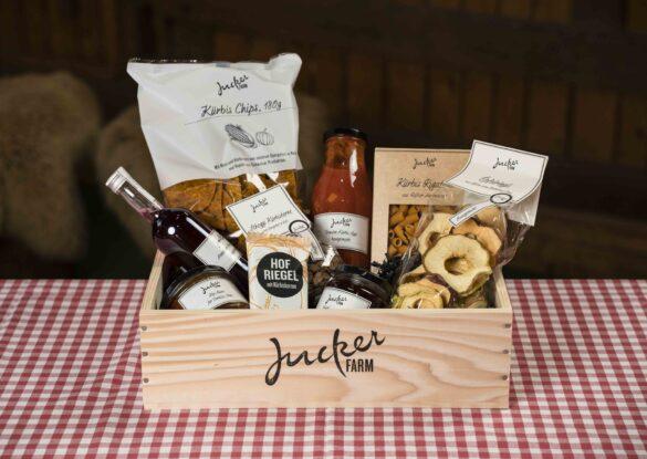Jucker Farm Geschenkkiste Holz klein