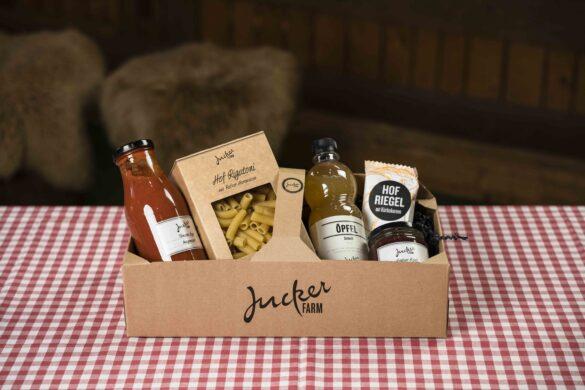 Jucker Farm Karton Geschenkkorb