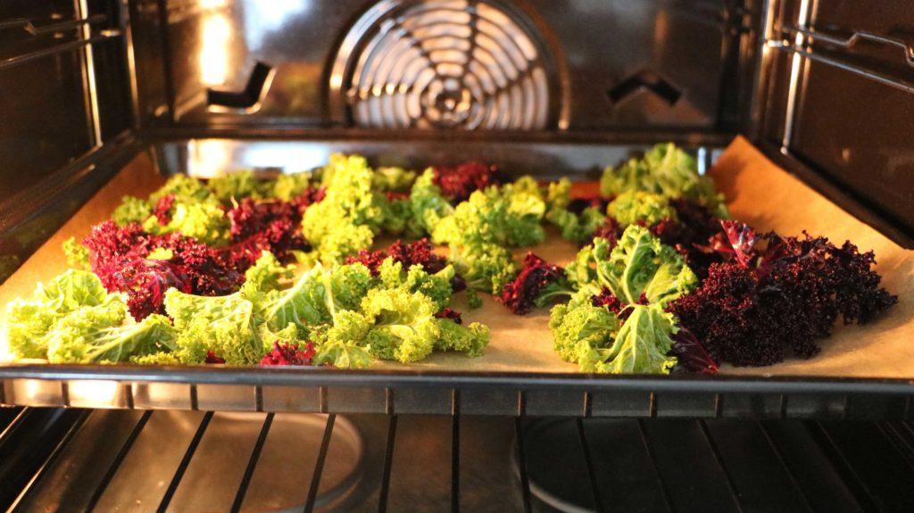 Kale Chips Ofen