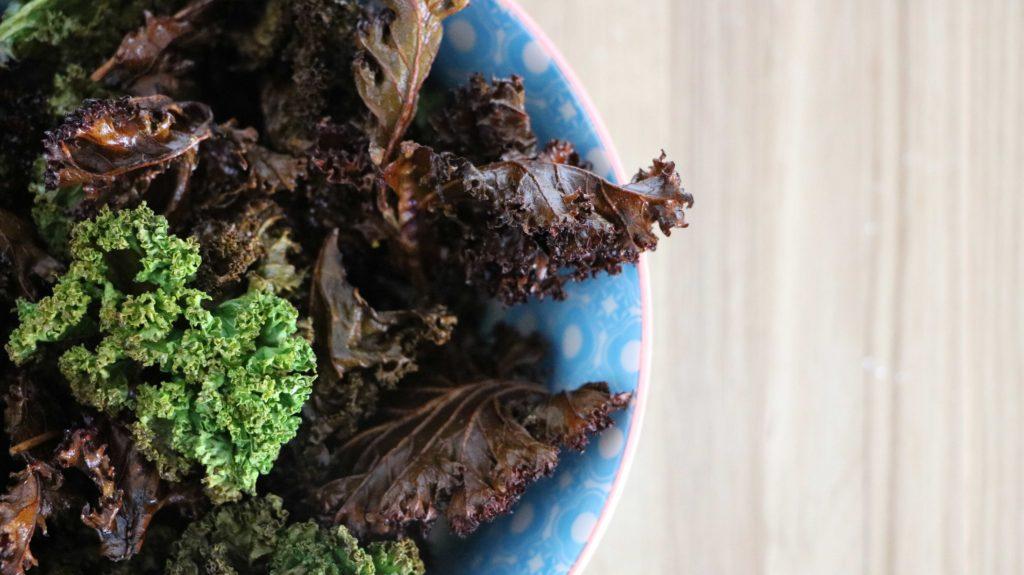 Kale Chips Fertig