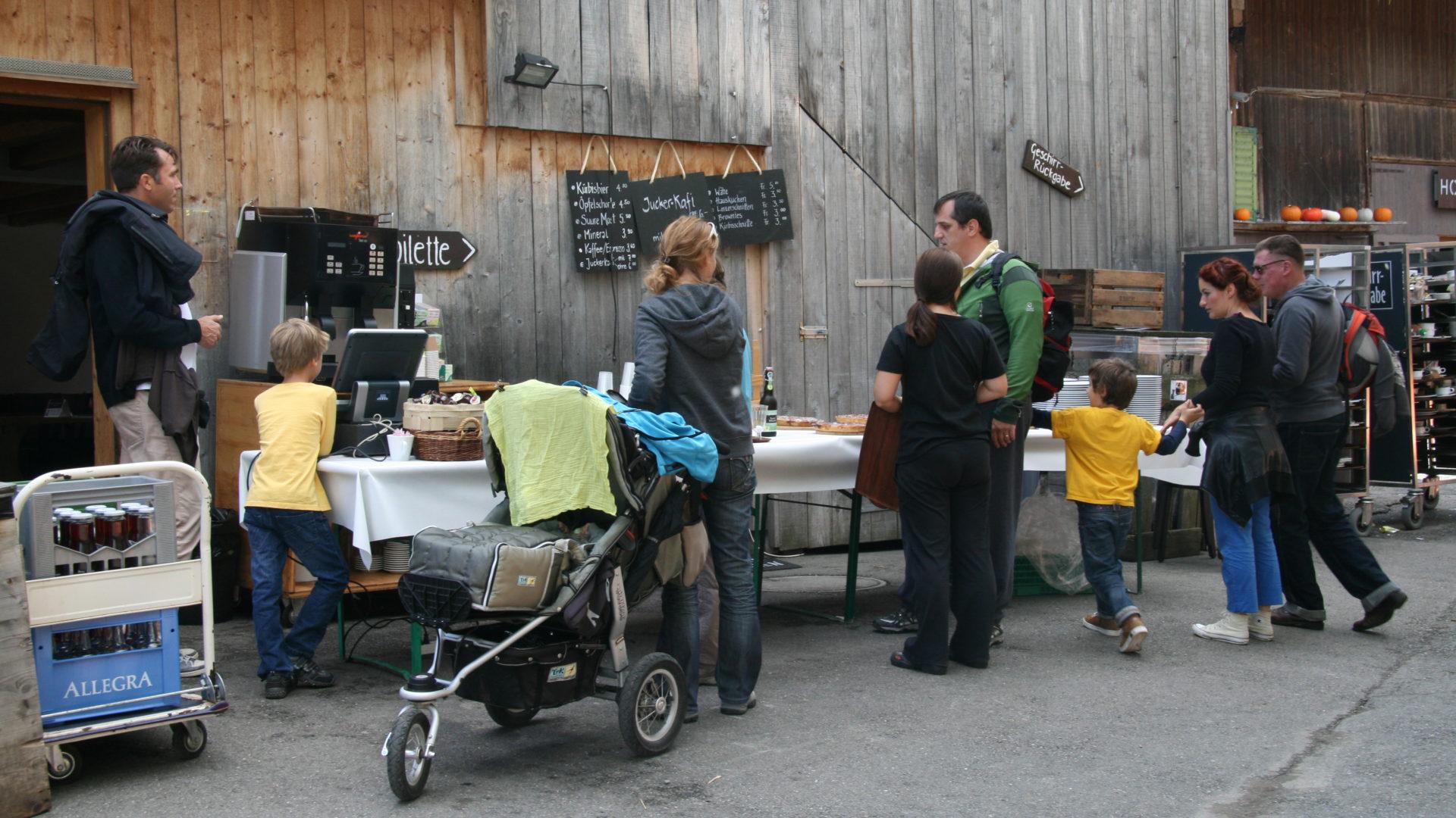 Kinderwagen Vorrang