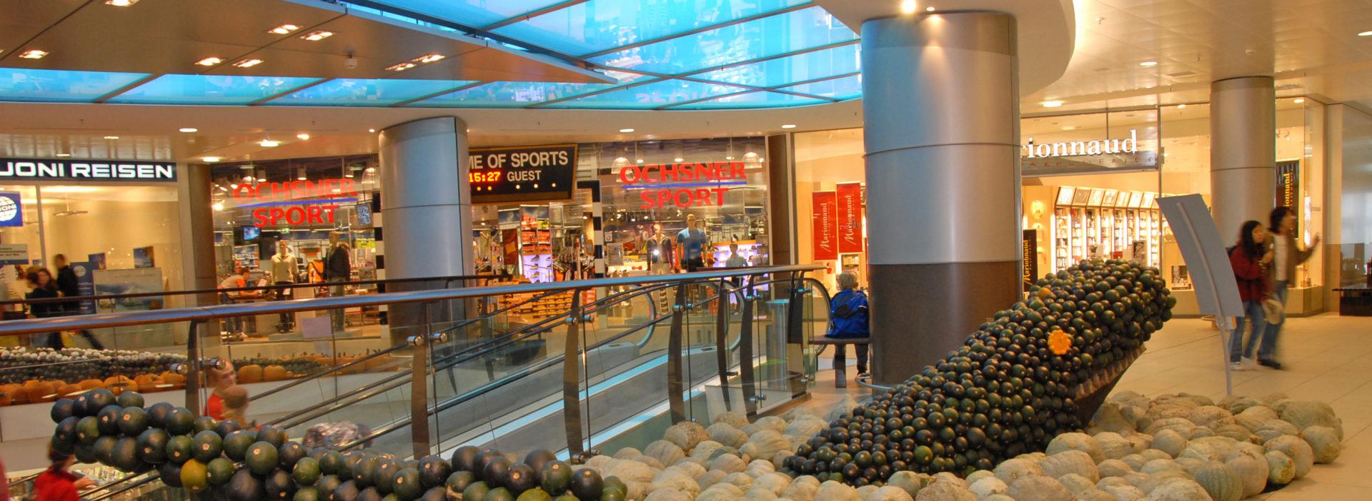 Kuerbisausstellung Mieten Einkaufszentrum