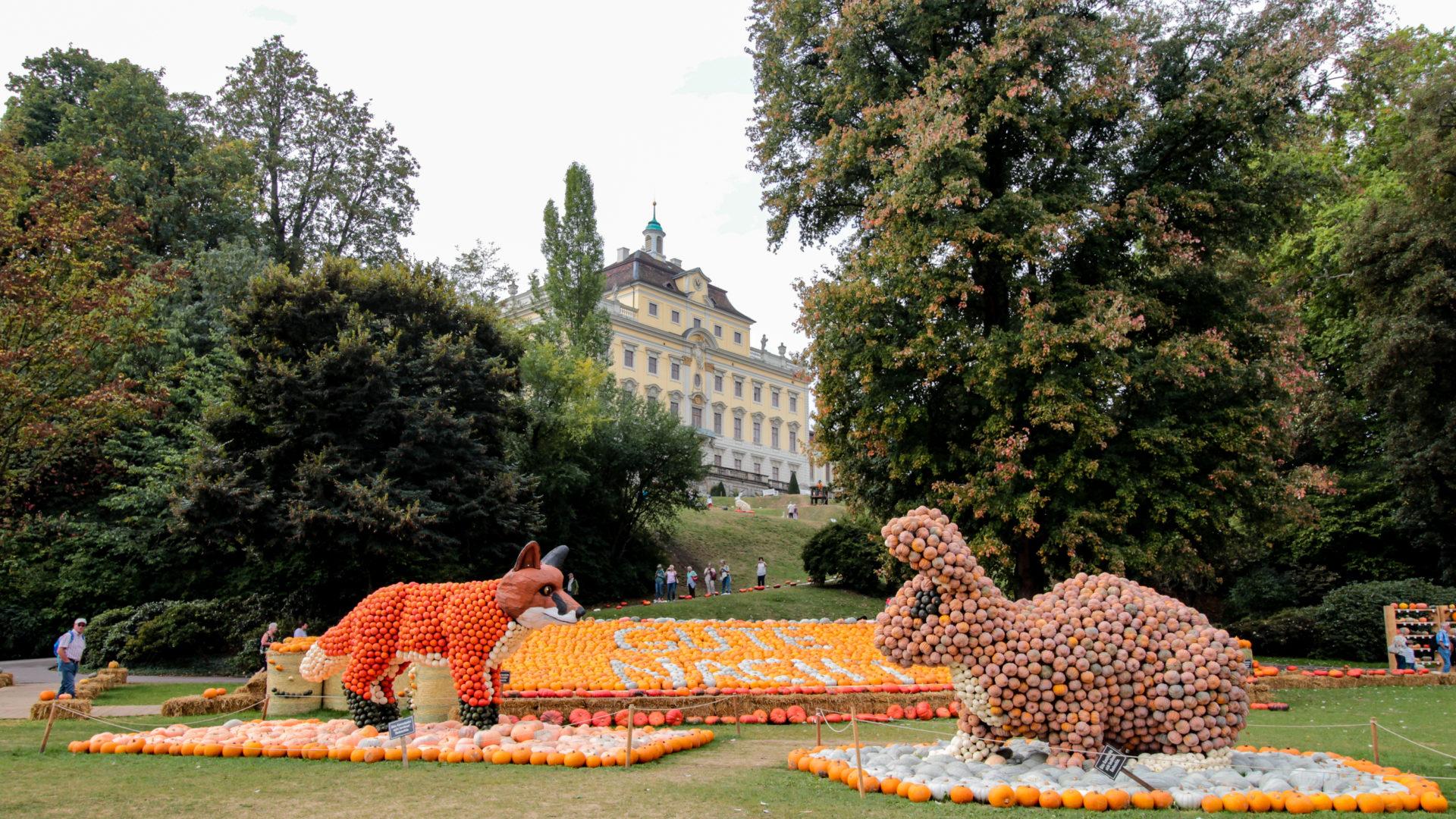Ludwigsburg Kürbisausstellung Wald