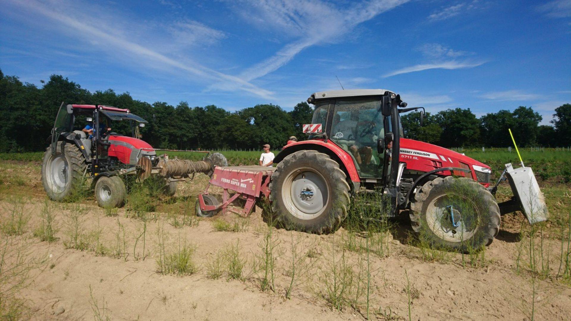 Massey Ferguson Traktor Mit Ad Blue