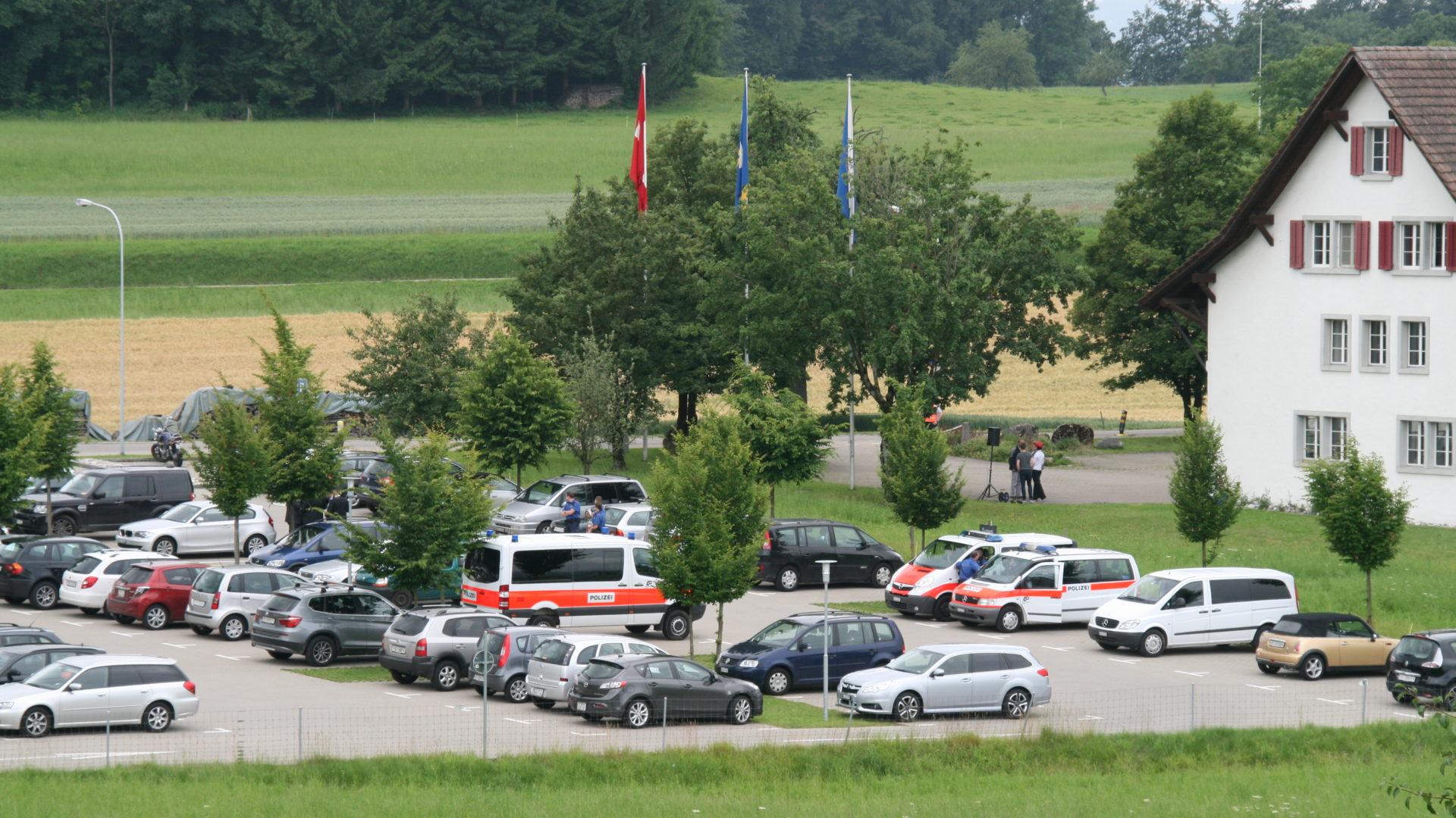 Parkplatz Gemeinde Seegräben