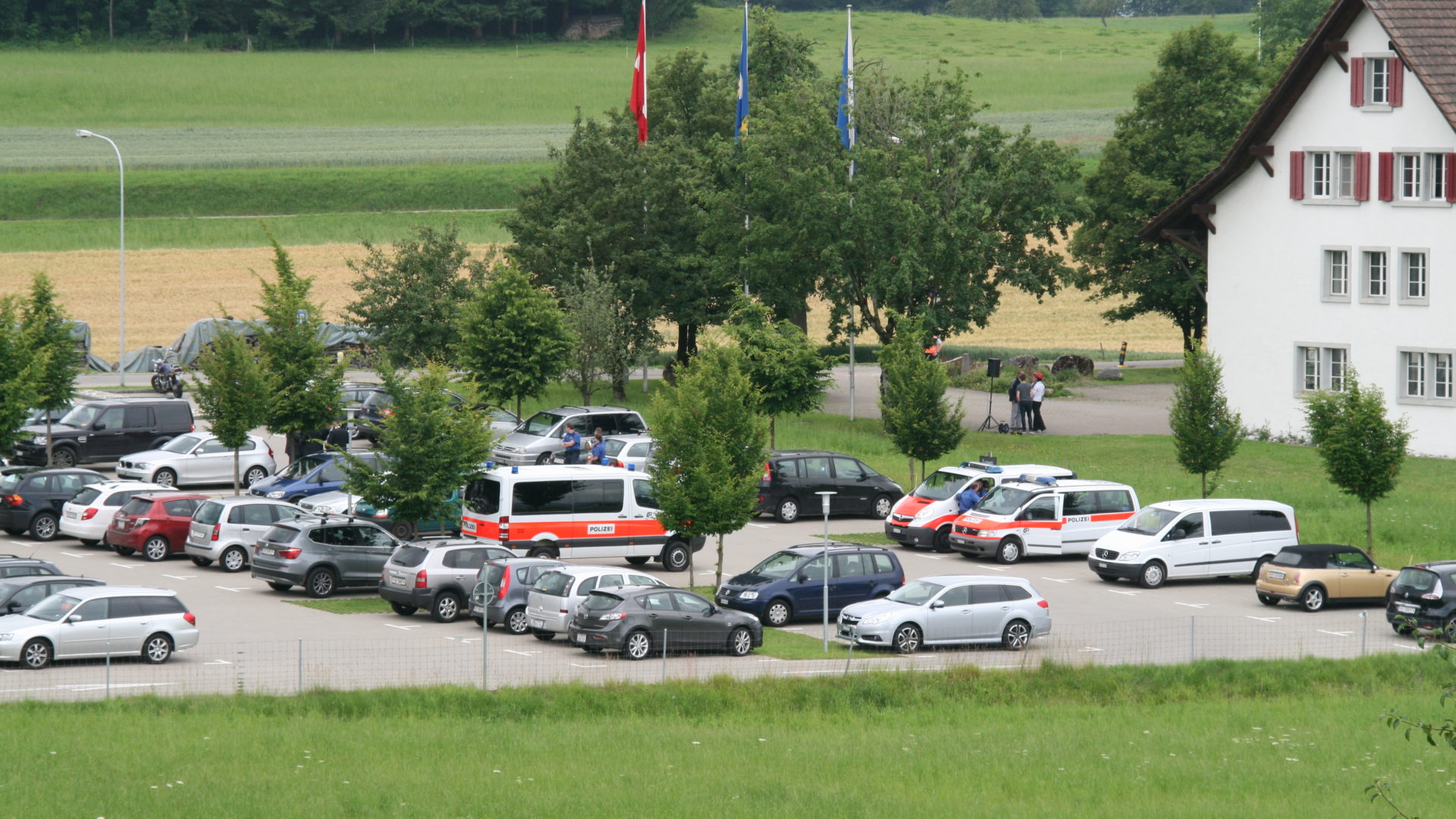 Parkplatz Gemeinde Seegraeben