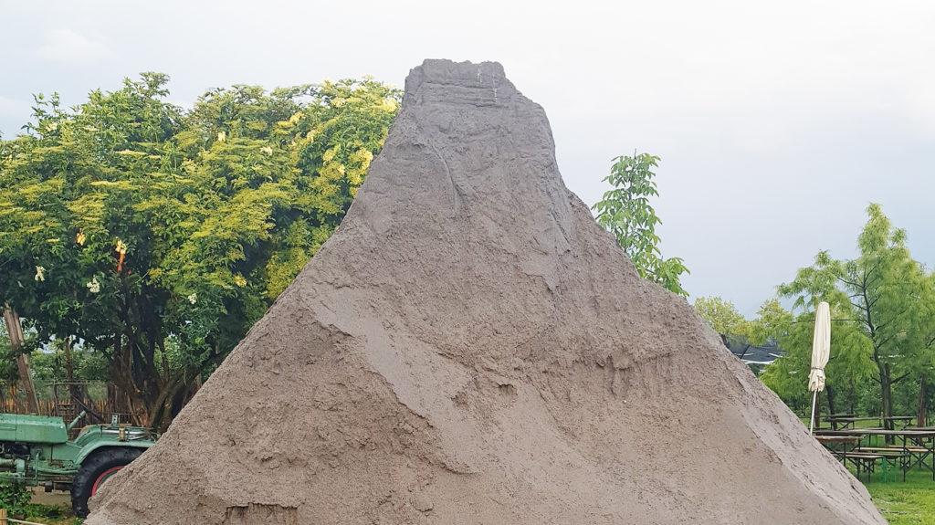 kaputtes Sandmatterhorn