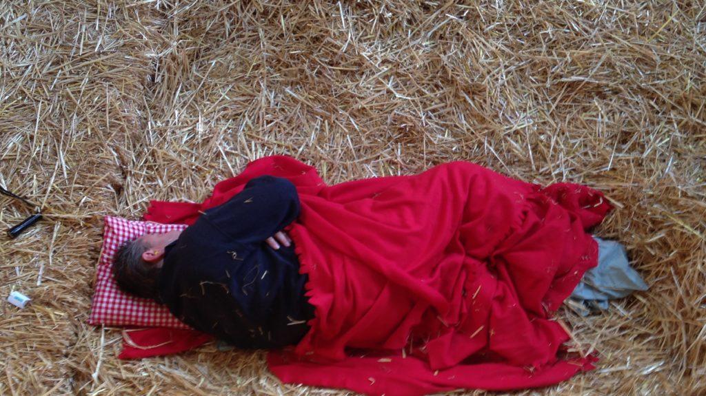 Schlafen Im Stroh