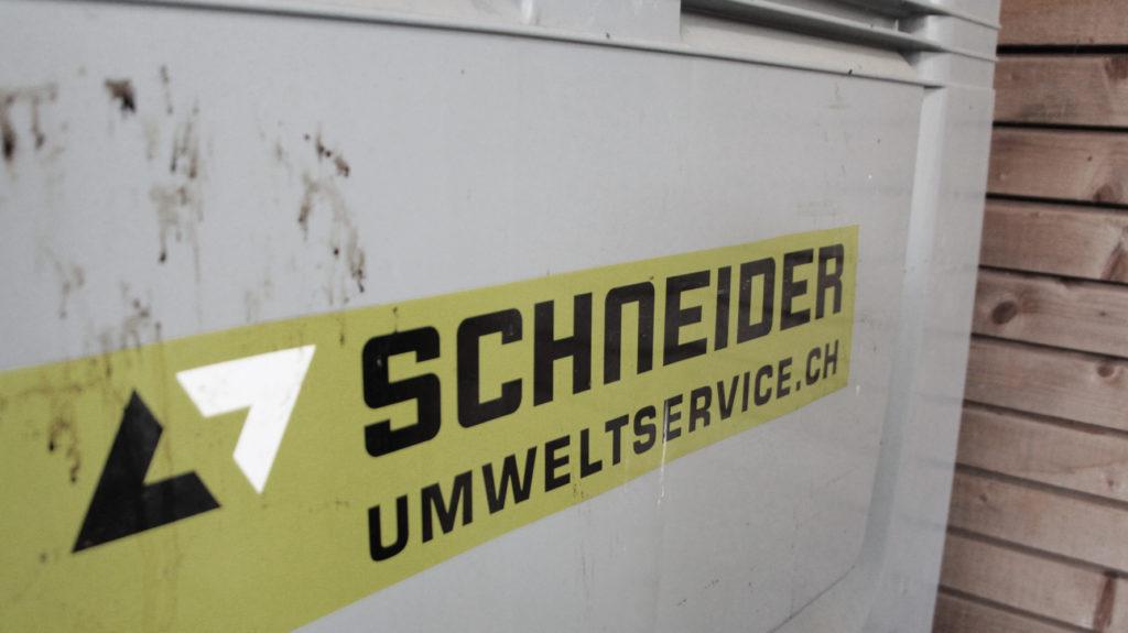 Container von Schneider Umweltservice