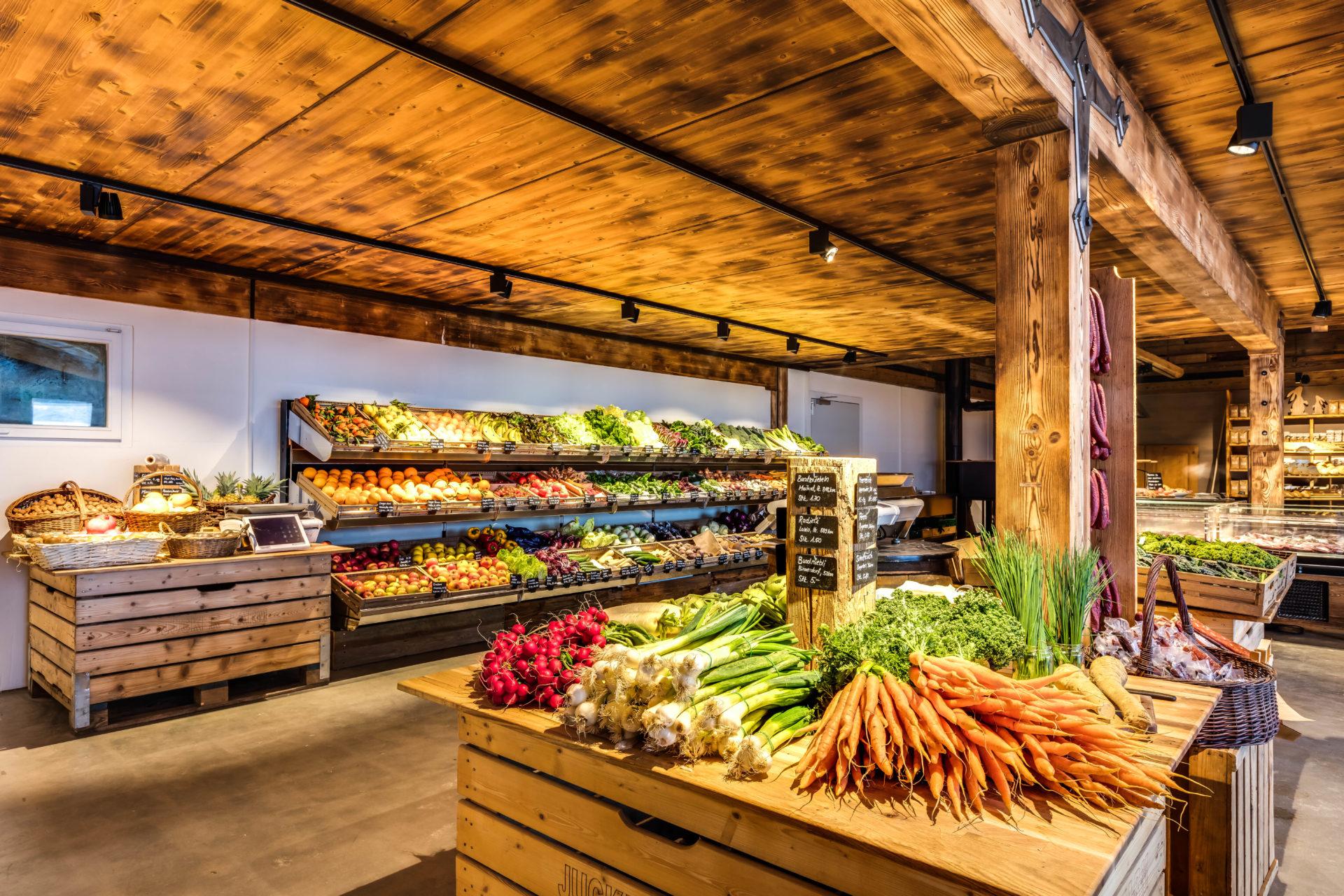 Spargelhof Hofladen Gemüse