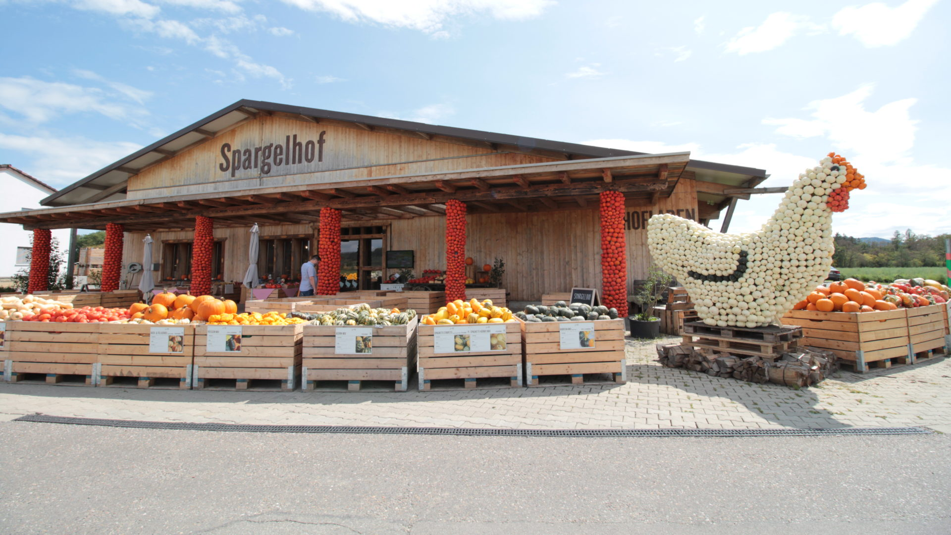 Spargelhof Kürbissaison Hofladen