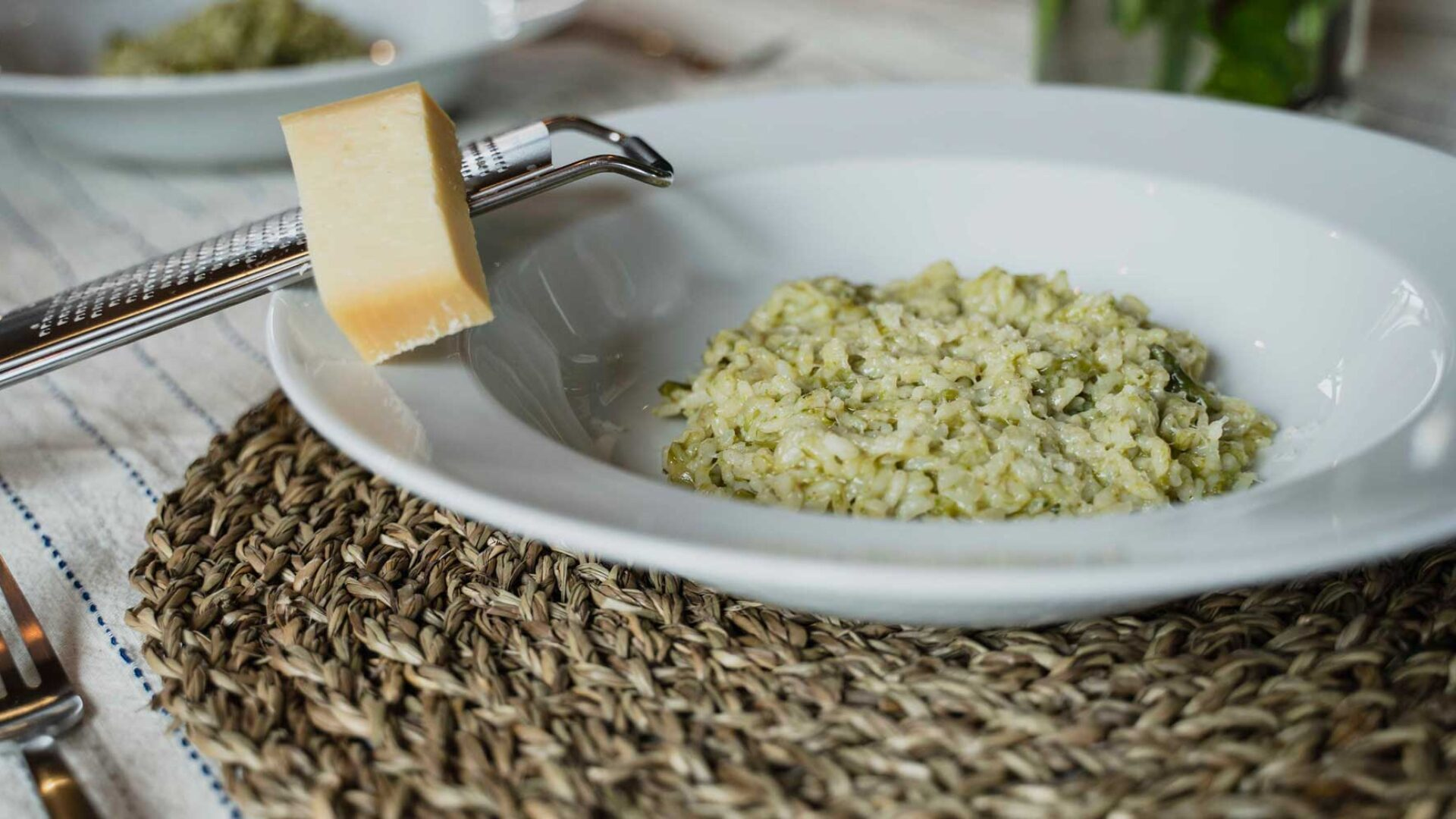 FeldFood Spargelrisotto