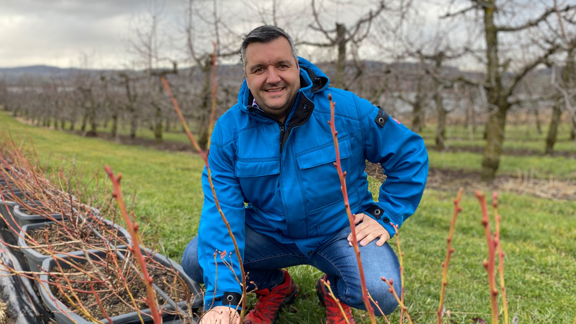 Landwirt Sven Studer
