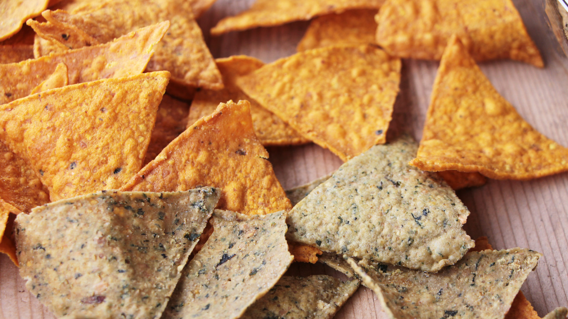 2 Sorten Tortilla-Chips