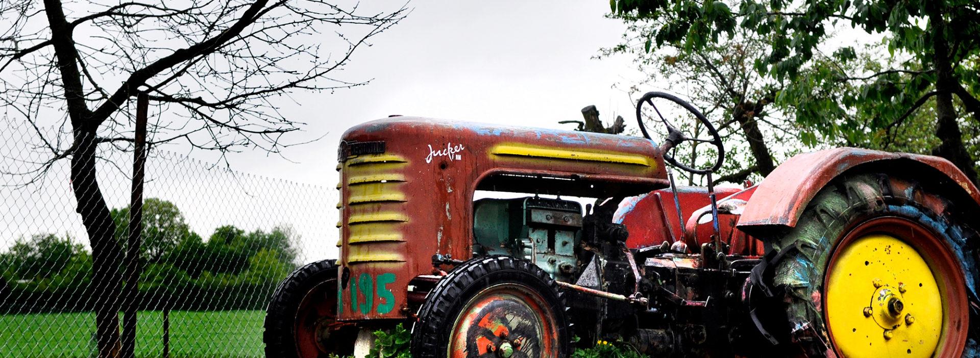 Traktor Juckerhof HofAkademie