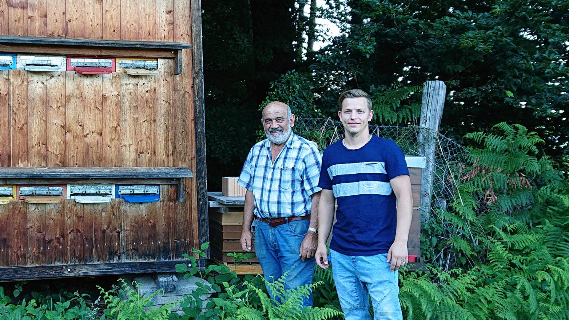 Imker Werner und Jsmael