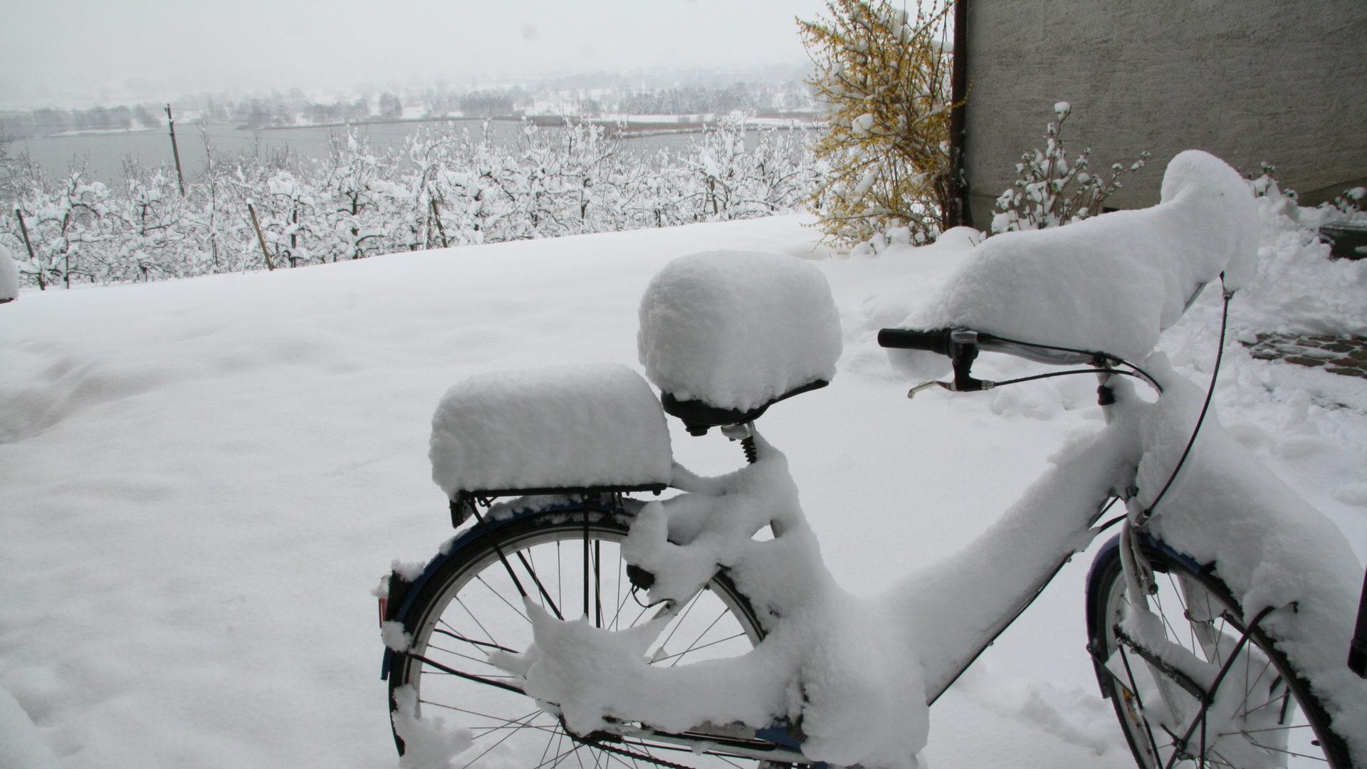 Wintereinbruch Oktober
