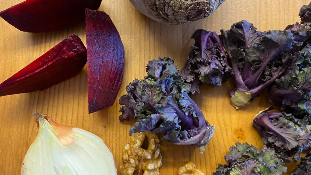 Zutaten Flower Sprouts Salat