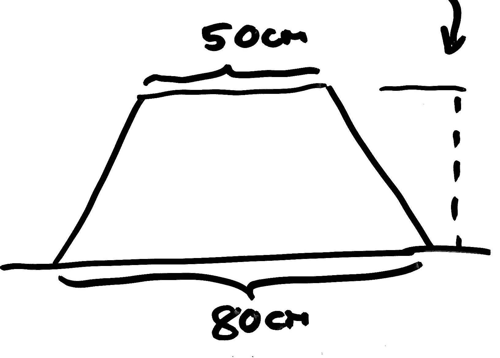 Skizze Spargeldamm Dimensionen